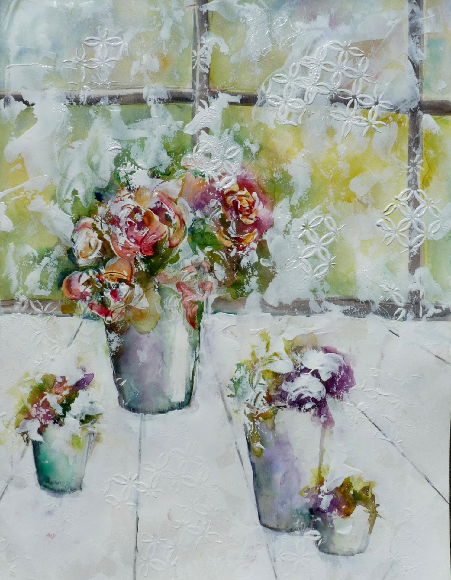 4 bouquets